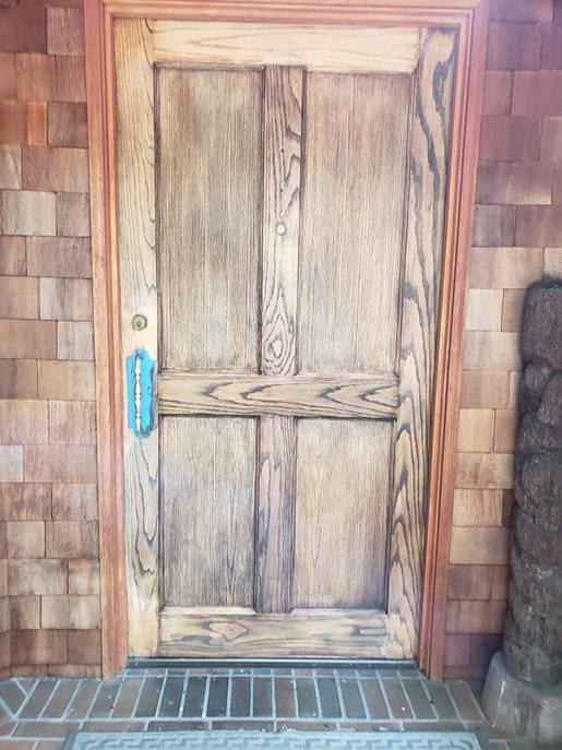 Normandy Park Door Before...
