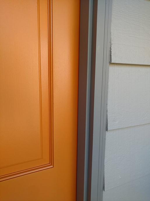 Orange Door Detail